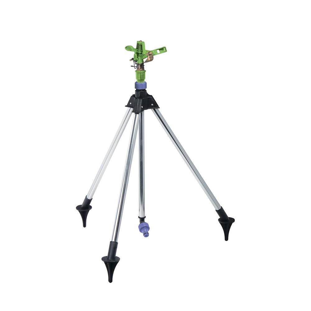 Garden Sprinklers PALISAD 65418 brass sprinkler, pulse, with adjustable angle of the spray horizon to 26 m, tripod free shipping 2pcs lot 35mm right angle belt nut pulse valve dmf 25dd ac220v