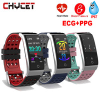 Fitness Tracker Watch E08 ECG PPG Heart Rate Monitor Fitness Bracelet Blood Pressure Waterproof IP67 Activity Tracker Women Men
