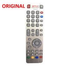 Original/genuíno rf remoto para sharp shw/rmc aquos rf smart tv com netflix youtube led tv botões controle fernbedienung