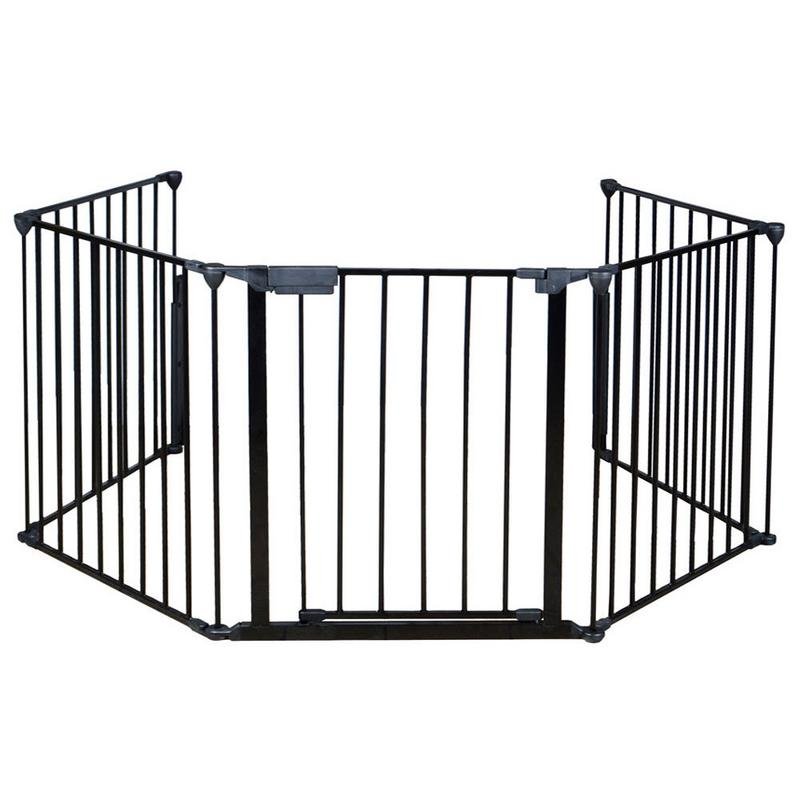 HPD Fireplace Fence Baby Safety Fence Hearth Gate BBQ Metal Fire Gate Pet Dog Cat by HPD Baby n Kids