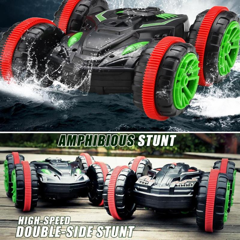 360 Rotate Remote Control Car RC Stunt Car Amphibious Electric Toys for Kid360 Rotate Remote Control Car RC Stunt Car Amphibious Electric Toys for Kid
