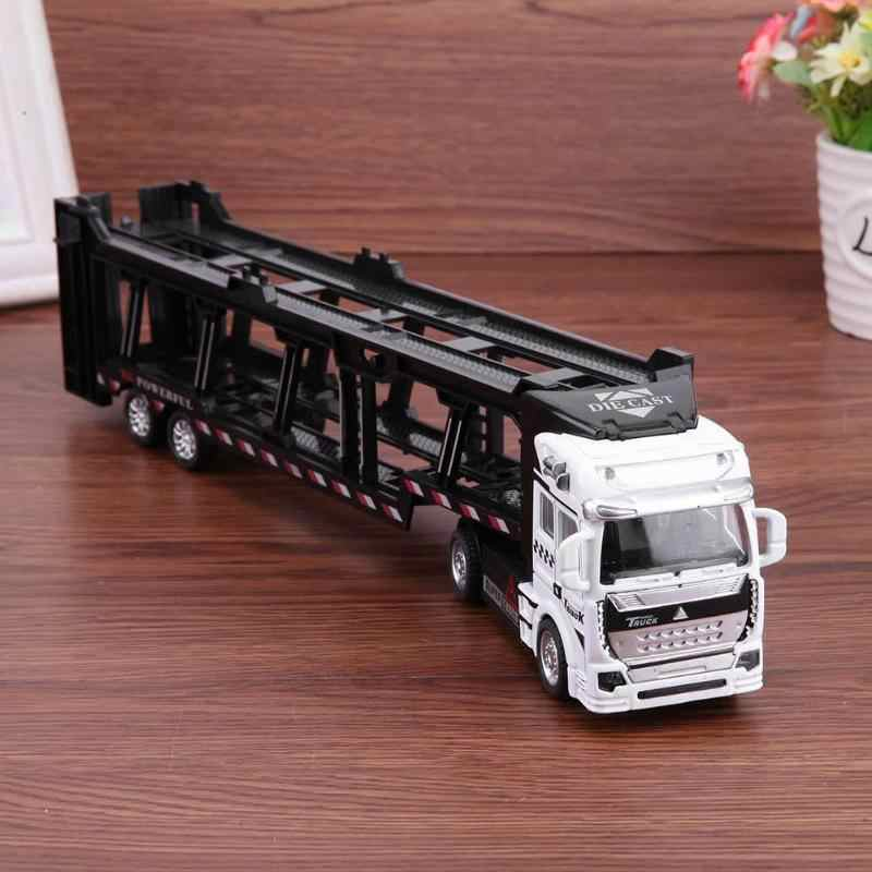 1:48 Pull Back Alloy Super Truck Vehicle Simulation Model Car Toys For Children Montessori Educational Development Toys Gift