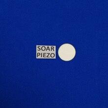 Ультразвуковые пьезоэлектрические керамические диски 25*0.30mm-PZT5 пьезо диски PZT кристаллы датчик элемент очистки чипы передатчика