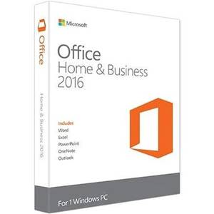 Microsoft Office Home and Business 2016 For Windows License Product key Code Retail Boxed inside DVD 32Bit64Bit
