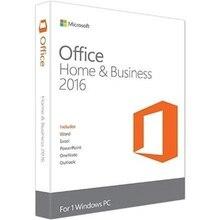 Microsoft office 홈 및 비즈니스 2016 windows 용 라이센스 제품 키 코드 소매 박스 내부 dvd 32 비트/64 비트
