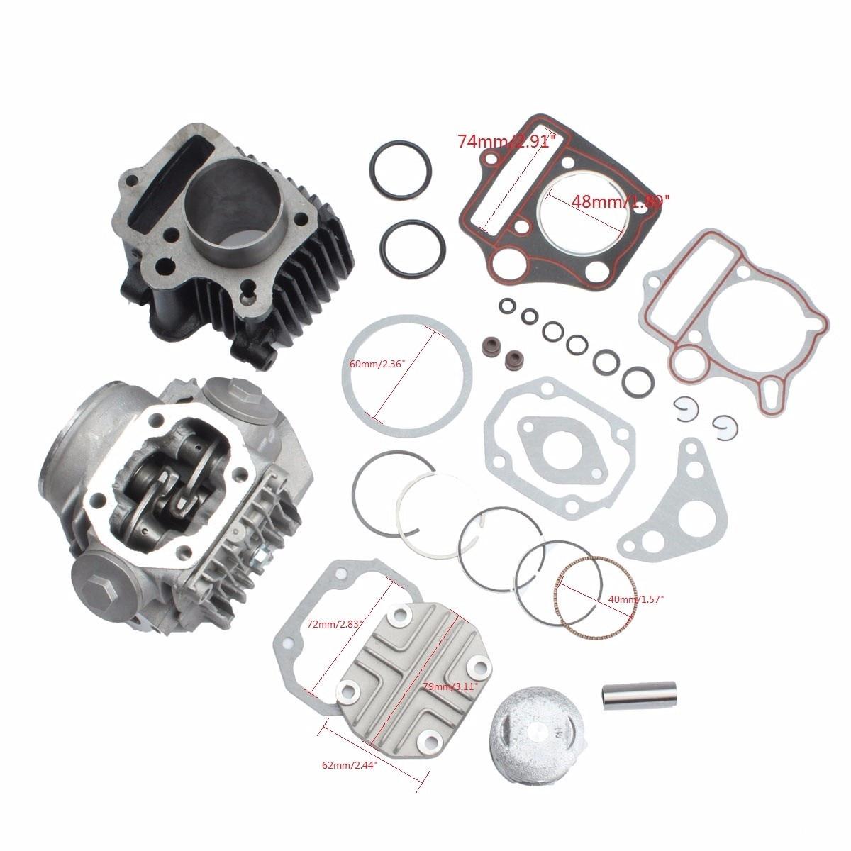 Cylinder Engine Motor Rebuild Kit For Honda ATC70 CT70 TRX70 CRF70 XR70 70ccCylinder Engine Motor Rebuild Kit For Honda ATC70 CT70 TRX70 CRF70 XR70 70cc