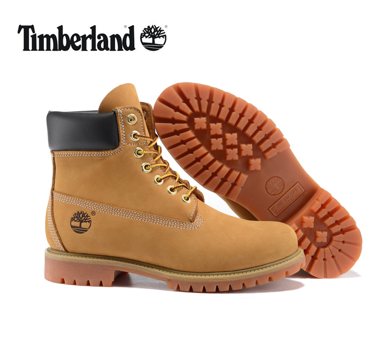 TIMBERLAND Classic Women's 6-Inch Premium Waterproof 10061 Boots For Female Nubuck Genuine Leather Ankle Wheat Yellow Shoes
