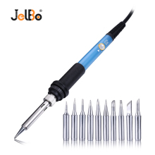 JelBo 220V 60W EU Plug Adjustable Temperature Electric Soldering Iron Welding Solder Heat Pencil With Head