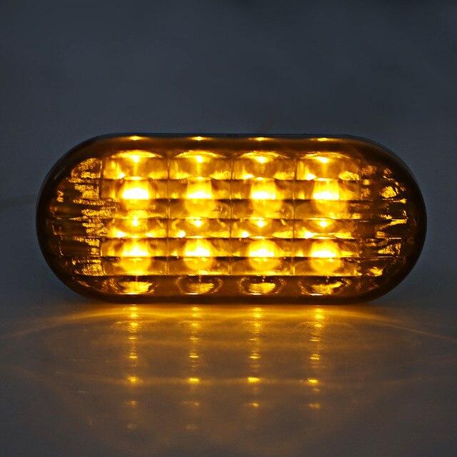 Marqueur latéral ambre de voiture | 1 paire, pour Golf Jetta Bora Bora MK4 Passat B5 B5.5, lentille noire, faible puissance et économie dénergie