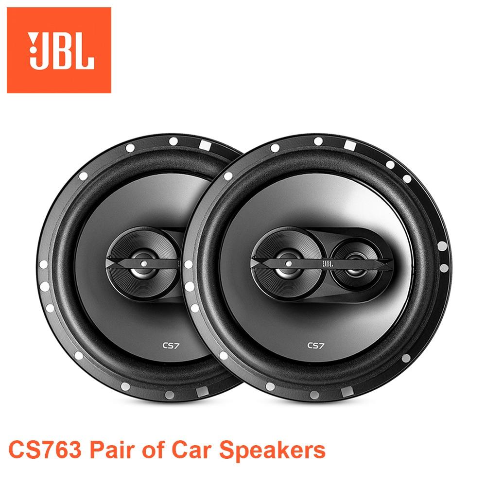 CS763 Pair of 6.5 inch 45-135W Hi-Fi Three-way Car Speakers
