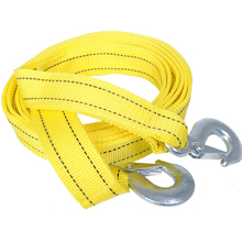 4M 5Ton Tow Cable Double Thicker Tow Rope Towing Pull Rope Snatch Strap Heavy Duty Road Recovery Car Truck Car Towing цена в Москве и Питере