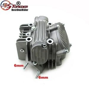 Image 4 - Stoneder 60mm cabeça do cilindro motor assy para zongshen z155 150cc 160cc 1p60ymj mx thumpstar explorador braaap atomic pit bicicleta da sujeira