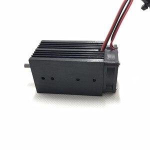 Image 4 - 12 v 500mw 405NM 青紫色レーザーモジュール彫刻、 ttl 制御レーザーチューブダイオードフォーカス + 調節可能なゴーグル