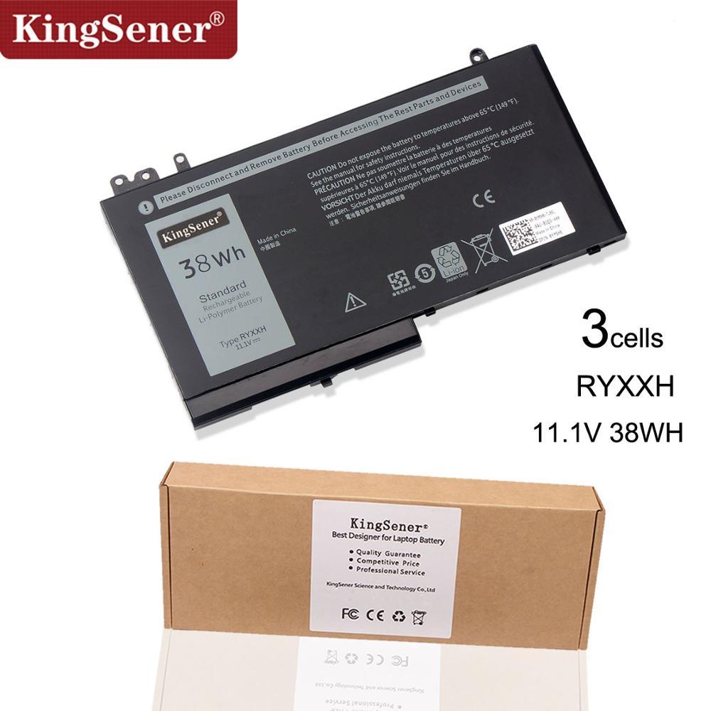 KingSener New RYXXH Laptop Battery For Dell Latitude 12 5000 11 3150 3160 3550 E5250 E5450 E5550 Series 09P4D2 9P4D2 11.1V 38WH