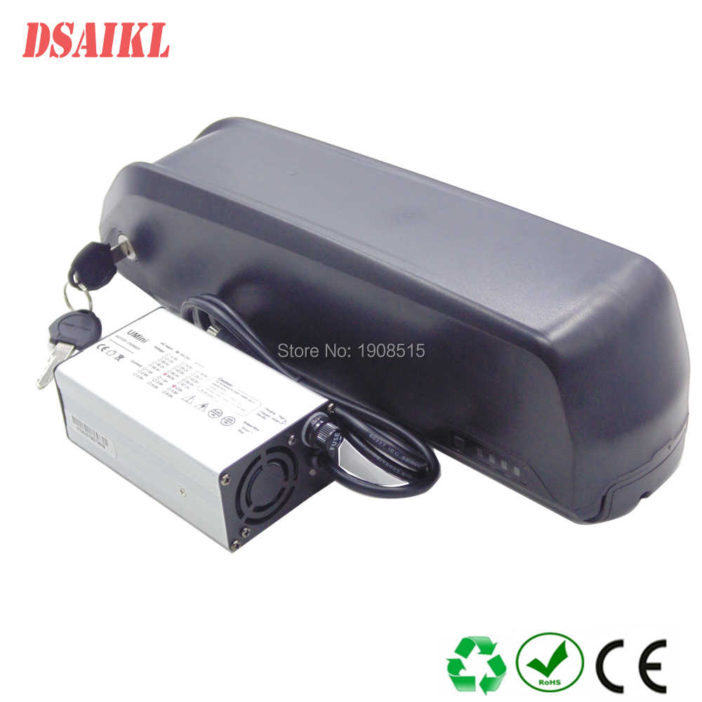 Electric bike Hailong Battery 36V 48V 52V 10.4Ah 11.6Ah 12Ah 13Ah 14.5Ah 15Ah 17Ah 20Ah 24Ah Shark ebike battery with charger
