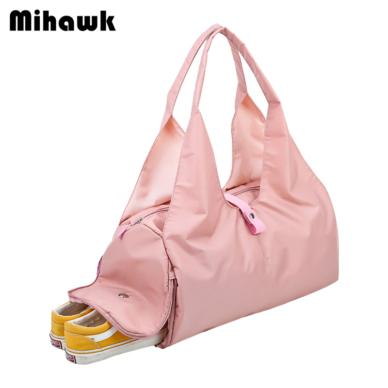 8860731f87a9 US $14.86 30% OFF|Mihawk Travel Shoulder Bags Independent Shoes Bag Women's  Bra Clothes Duffel Sling Pouch Baggage Overnight Organizer Box Supply-in ...