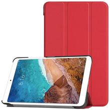 цена на PU Leather Protective Flip Stand Smart Dormancy Case Cover for Xiaomi Mi Pad 4 8 Inch Tablet Suitable for watching moviesi PU