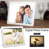12 Polegada hd 800x600 led digital homeir controle remoto álbum photo frame display led eletrônico foto automática luz e album|Controle remoto inteligente|   -