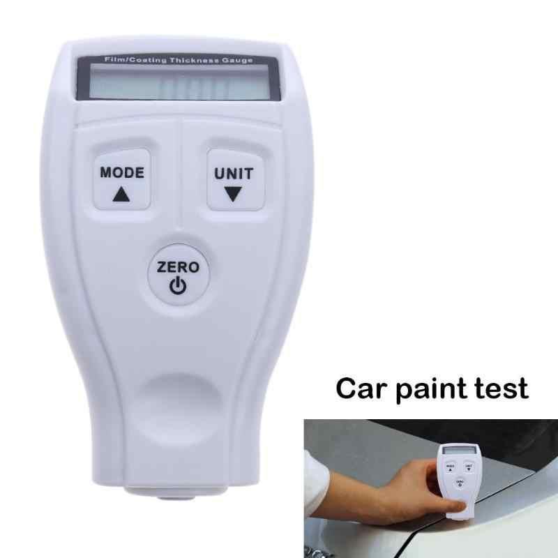 Powłoka malowanie przyrząd do pomiaru grubości GM200 powłoki samochodu Film miernik samochodów grubości farby pomiaru testowego narzędzia akcesoria