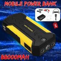 Многофункциональное пусковое устройство 89800 мА/ч, 4USB 600A аварийный аккумулятор для автомобиля бустер зарядное устройство усилитель Мощност...