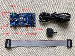 Image 4 - DYKB 전문 음악 스펙트럼 AS3264 풀 컬러 RGB 디스플레이 분석기 MP3 앰프 오디오 레벨 표시기 리듬 VU 미터