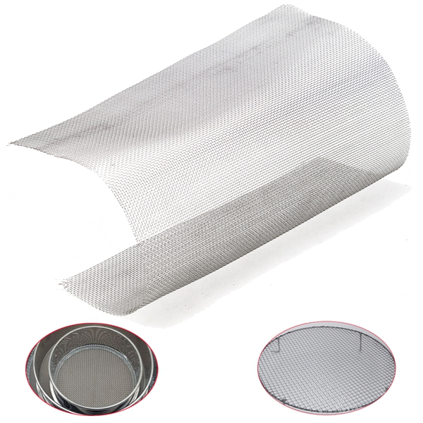30x30cm Woven Wire 304 Stainless Steel Filtration Grill Sheet Filter 14  Mesh  Wire Mesh Cloth Screen