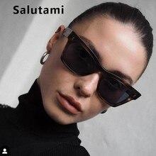 Rivet Square Sunglasses For Women Men 2019 Luxury Brand Smal