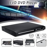 Portable DVD Player 110 240V USB DVD Drive Portatil Video VCD EVD MP3 MP4 Disc Player for Car Home Audio System