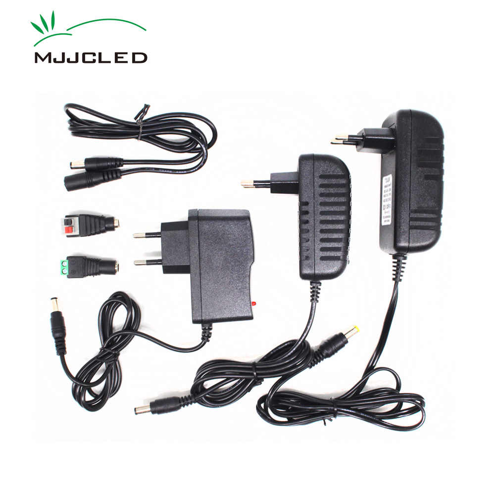Zasilacz 12 V 2A 3A 1A transformator 220V 12 V AC DC LED 12 V Adapter 5A 4A sterownik LED 110V 230V 240V do taśmy LED