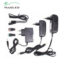 Zasilacz 12 V 2A 3A 1A transformator 220V 12 V AC DC LED 12 V Adapter 5A 4A sterownik LED 110V 230V 240V do taśmy LED(China)