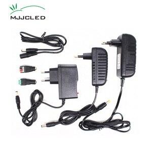 Power Supply 12V 2A 3A 1A Transformer 220V 12V AC DC LED 12 Volt Adapter 5A 4A LED Driver 110V 230V 240V for LED Strip Light(China)
