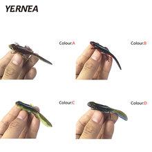 Yernea 1 шт 37g 4 цвета для рыбалки мягкие блесны на удочку