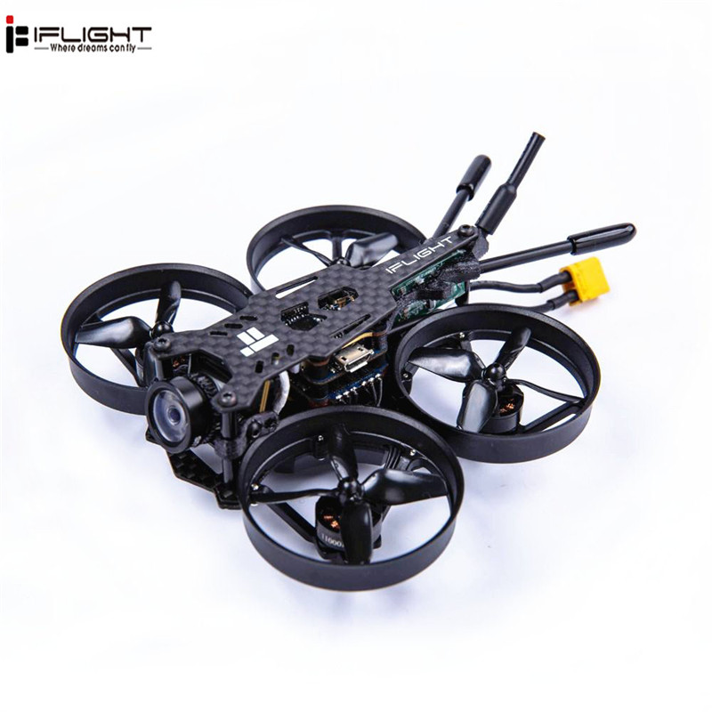 IFlight CineBee 75HD 2 3 S XT30 1103 2 3 S Motor Whoop FPV Drone RC Drone W/ succeX micro F4 12A 200 mW tortuga V2 HD FPV Cam-in Helicópteros RC from Juguetes y pasatiempos    1