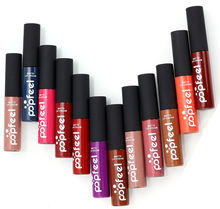 Popfeel 12 цветов макияж Матовый жидкий блеск для губ водостойкий