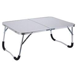 Regulowany przenośna podstawka/stolik pod laptopa składany komputer lampka do czytania biurko łóżeczko|Biurka na laptopy|Meble -