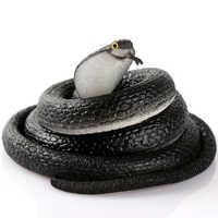 MrY 80cm Simulation Toy Cobra Practical Jokes Interesting Prank Horror Fun Shocker Novelty Gadgets Funny Toys Animals Snake Toys