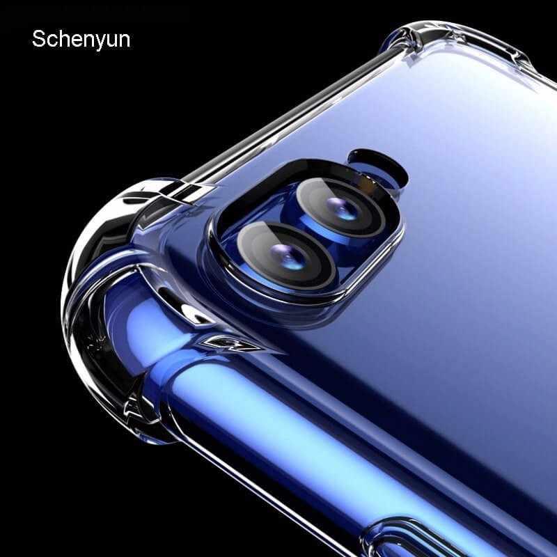 Caso de Huawei Mate 20 Lite Pro X honor 8x 8C 8A 9i 9N 10 nova 3 3i 4 P30 pro V20 funda trasera suave TPU para Huawei P20 lite