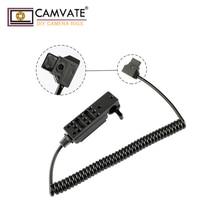 CAMVATE 15mm מוט מהדק Cheeseplate & כוח להמיר לשקע C1950