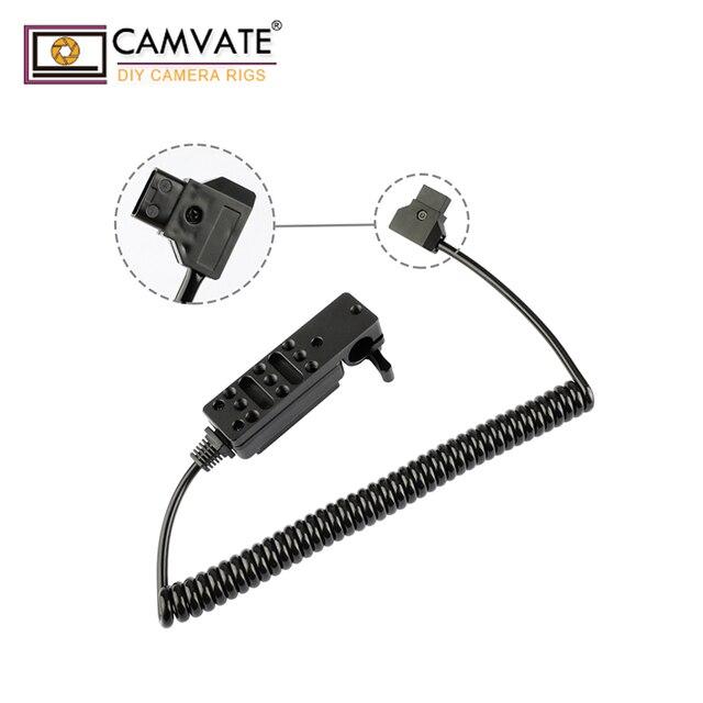 CAMVATE 15mm Rod Clamp Cheeseplate & Power Konvertieren Outlet C1950