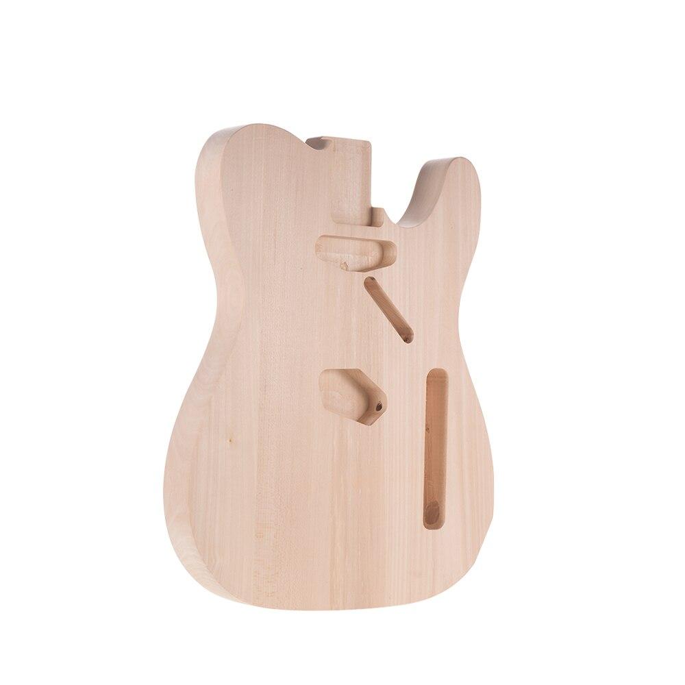 Muslady bricolage corps de guitare électrique Basswood matériel inachevé corps de guitare personnalisé guitare baril pièces accessoires