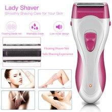 SG-661, женский Электрический бритвенный бритва эпилятор для рук, ног, подмышек, тела, для удаления волос, триммер, водонепроницаемый, перезаряжаемый, для лица, тела