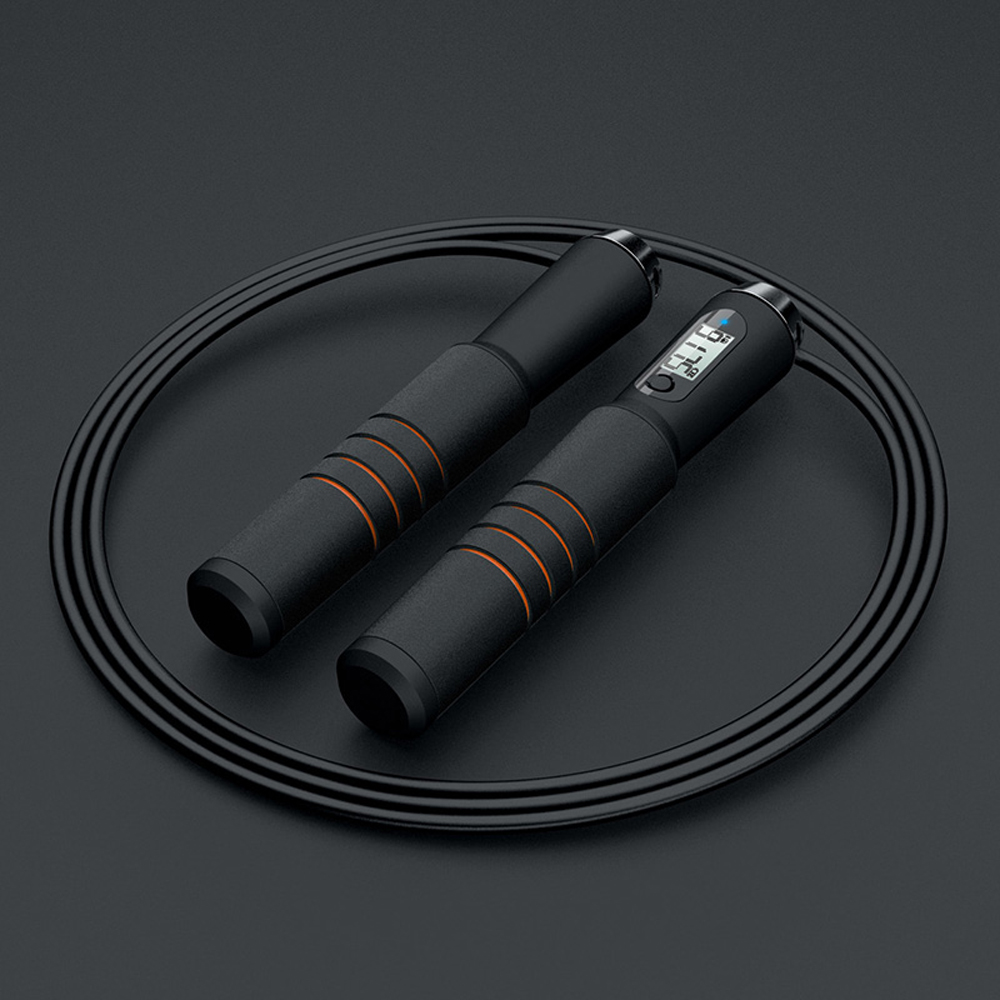 Intelligent Bt Jump Rope CrossFit Digital Calorie Speed Counter Jump Ropes For Exercise Alarm Reminder Weight Setting APP image