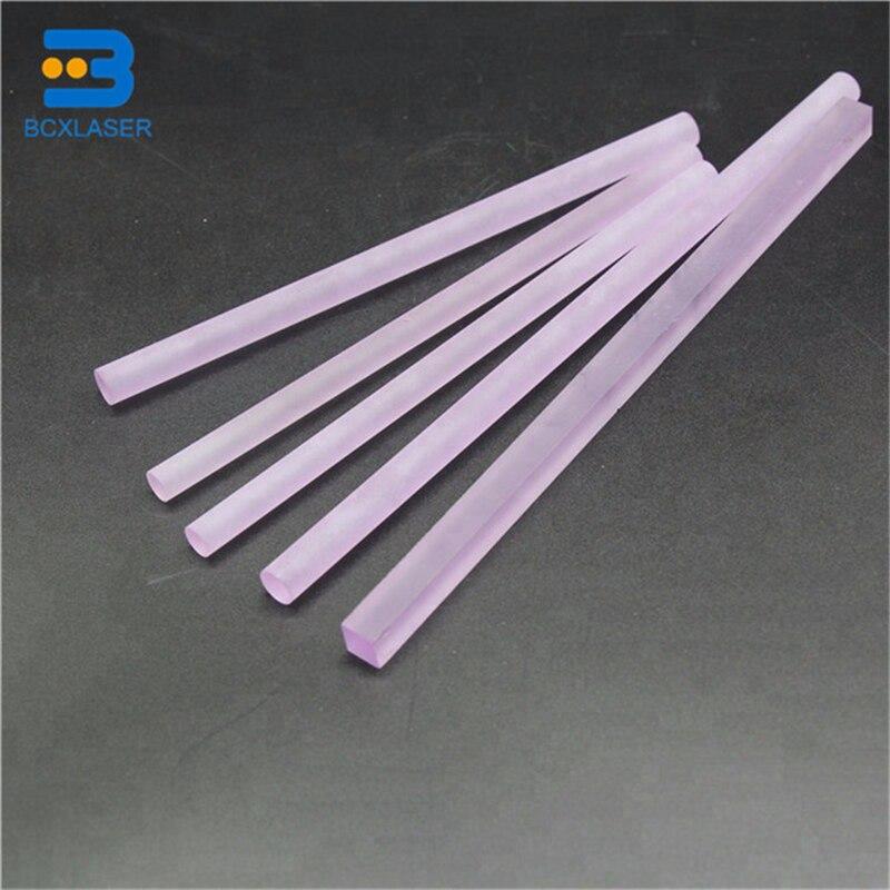 Dia7mm*145mm/7mm*165mm Nd:Yag Laser Rod Laser Crystal Rod