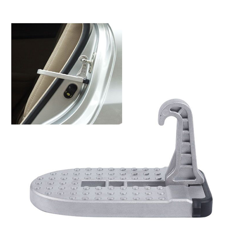 Car Vehicle Stepping Ladder Foot Pegs Automotive Aluminum Alloy Door Latch Hook Foot Pedal For Jeep Suv Truck