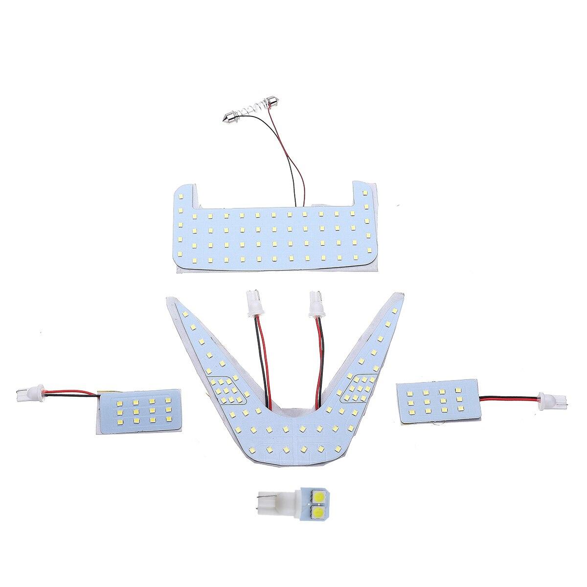 bianca Luce di lettura per auto universale LED Lampada per illuminazione di tetto per interni Luce magnetica per auto a LED