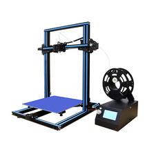 3D Printer DIY Kit High Precision Rapid Self-Assembly 3.2 Inch Screen Large Print Size with SD Card Off-line Printing
