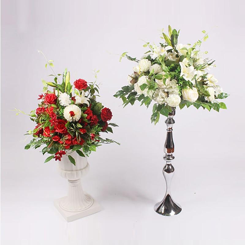 40cm silk peonies rose hydrangea artificial flower ball arrangement decor for wedding backdrop table T Station