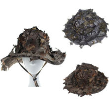 Leaves Camouflage Boonie Hats Tactical Airsoft Sniper Camouf