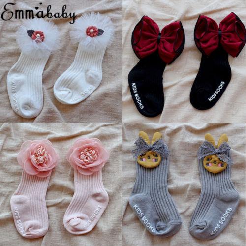 Spanish baby Girls knee high Fur socks 0-6 Months 6-12 Months romany