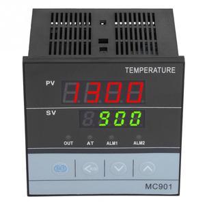 Image 4 - وحدة تحكم رقمية في درجة الحرارة PID مقاومة للماء MC901 K نوع PT100 مستشعر إدخال مرحل خرجات SSR